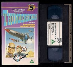 Thunderbirds #volume 5 video vhs pal uk rating u #uninvited / #mighty atom,  View more on the LINK: 	http://www.zeppy.io/product/gb/2/201640980590/
