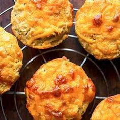 Apple-Cheddar Quinoa Muffins Recipe #glutenfree