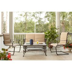 Outdoor Living On Pinterest Home Depot Patio And Small