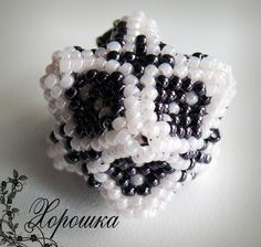 Master - classe cube de tissage | biser.info - tout au sujet des perles et des œuvres de perles