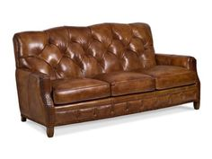 aberdeen tufted leather sectional | brown furniture leather | fmi, Möbel