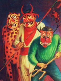Personajes de carnaval. Carlos Orduna Barrera