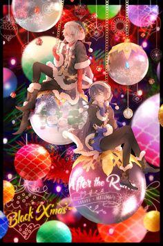 Japanese Language, Christmas Wallpaper, Vocaloid, Snow Globes, Otaku, Anime Art, Christmas Bulbs, Rain, Cool Stuff