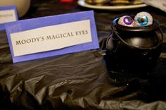 moody's magical eyes and other harry potter party ideas
