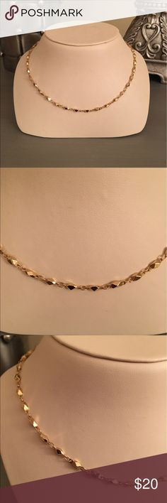 Dainty Gold Necklace Gold tone Boutique Jewelry Necklaces