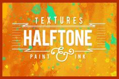 Halftone Paint Textures #2 by caiocall on @creativemarket