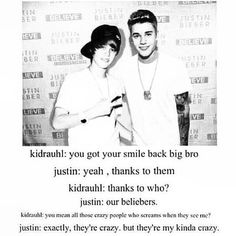 #lovethis<<< not really a belieber but this is too cute(: