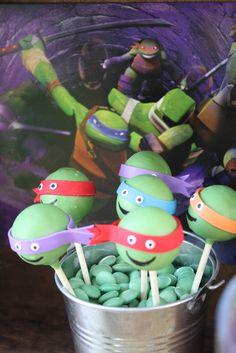 Teenage Mutant Ninja Turtles Birthday Party Ideas | Photo 15 of 24 | Catch My Party