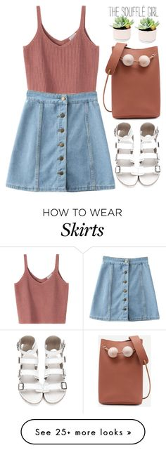"""Casual!"" by amilla-top on Polyvore featuring WithChic, casual, jeans and shein"