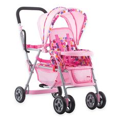 Let your little one play around with the perfectly pink Joovy Toy Caboose Stroller, which is designed to look like one of Joovy's popular strollers. This toy stroller can secure up to 3 toys at once, making it a must-have for mommy role-playing. Baby Doll Game, Baby Doll Toys, Baby Alive Dolls, Reborn Baby Dolls, Real Baby Dolls, Baby Doll Car Seat, Best Baby Doll, Baby Doll Furniture, Baby Doll Strollers