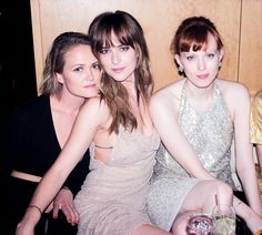 Dakota Johnson at the Met Gala after party in NY - 5 May 2014