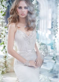 Bridal Gowns, Wedding Dresses by Alvina Valenta - Style AV9409