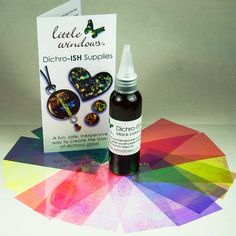 This set, combined with resin, gives you an inexpensive, easy way to create the look of dichroic glass and lots of other fabulous pieces!   Make over 100 pieces.