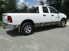 Rocker panel accents too! Dress up your ride at www.CamoMyRide.com