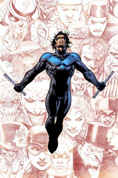 Nightwing Covers Detective Comics