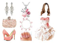"""""""Pink Afternoon tea"""" by kwonrena ❤ liked on Polyvore featuring River Island"""