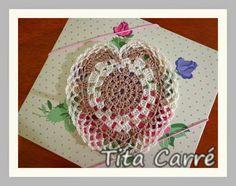 Crochet Toallita Corazón