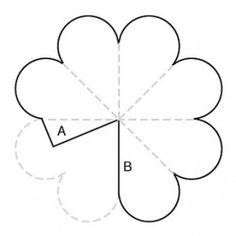 Molde de flor de eva - Como Fazer