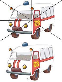 Primary School, Children, Kids, Transportation, Kindergarten, Homeschool, Paper Crafts, Games, Puzzles