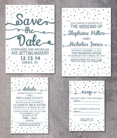 22 best wedding invitations by the invitation oven images on winter wedding invitation confetti invite printable invitation set save the date 5x7 invitation 5x7 details card 4x6 rsvp 35x5 stopboris Image collections