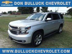 2015 CHEVROLET TAHOE for sale at Don Bulluck Chevrolet, Inc.