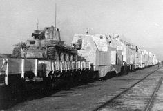 Panzerzug german armored train with panzer 38t winter ...