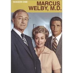 """""""Marcus Welby, M."""" Starring Robert Young, Elena Verdugo, and James Brolin (who's certainly kept his looks in the current """"Life In Pieces"""" some fifty years later. Nostalgia, Tv Sendungen, Mejores Series Tv, John Wilson, Cinema Tv, Childhood Tv Shows, Vintage Television, Medical Drama, Entertainment"""