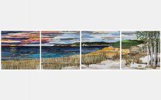 Sleeping Bear Dune Lakeshore by ann loveless. 2013 Artprize winner at Grand Rapids, Michigan.