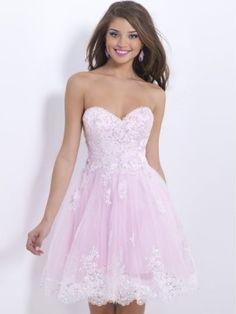 A-Linie/Princess-Stil Herz-Ausschnitt Ärmellos Applikation Kurz/Mini Tülle Kleider - Kurze Abendkleider - Abendkleider