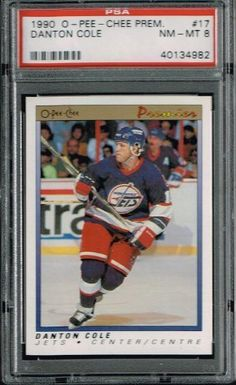 PSA 8 1990 Opeechee OPC Premier NHL Hockey Card Danton Cole #17 Winnipeg Jets Sold And Photographed By Thegoodoldboys by Opeechee. $14.00. Buyer gets best looking card available if more than card is available.      ***For anyone that wants to buy more than 1 from me, Thegoodoldboys***  Amazon won't let me fix the shipping, so what has to be done is when you buy multiple items from me, you will get charged shipping for each one.  What I can do is then refund you th...