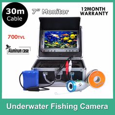 170.81$  Buy here - http://alig74.shopchina.info/1/go.php?t=32272595006 - 7 Inch  Underwater Video Camera System Fish Finder   700TVL Fishing Camera  #buychinaproducts