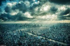 「こんな東京見たことない!!」スカイツリーから撮影された写真が素晴らしいと海外で話題