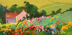September Garden, Blair Atholl - Stephen Quiller