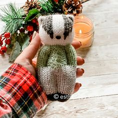 Ravelry 789115165945633377 - Ravelry: More Forest Friends pattern by Esther Braithwaite Source by christine_lem Knitted Doll Patterns, Knitted Dolls, Knitting Patterns Free, Free Knitting, Baby Knitting, Crochet Patterns, Fair Isle Knitting, Loom Knitting, Knitting Toys