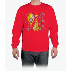 A Cat And A Little Bee Bee Movie Long Sleeve T-Shirt