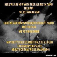 Awakening - Switchfoot... My favourite song ^^