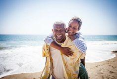 Black couple piggyback on beach royalty-free stock photo Investing For Retirement, Retirement Planning, Over The Top, Fiance Visa, Temporary Work, Work Visa, Dressing, K 1, Black Couples