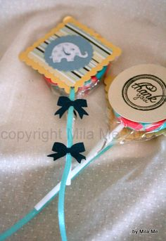 baby shower favor by MyMilaMe.com