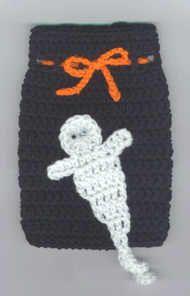 Halloween Goody Bag   - free crochet pattern