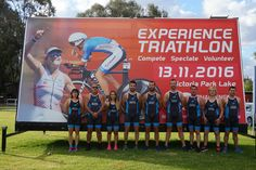 Three teams of Bioiberica have achieved our Last step: at the Victoria Park Lake. Triathlon, Challenges, Victoria, Australia, Baseball Cards, Park, Triathalon, Parks