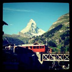 Zermatt, Family trip - Summer 1976