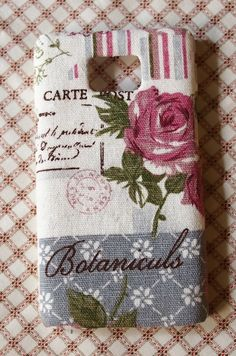 Diy Handmade Fabric Art Phone Case no.67b  Rose with French Style for Samsung galaxy S2 T-Mobile T989 S3 Note 2 HTC the New One J X S SC V