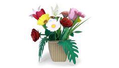 色とりどりのお花をつくってかざって楽しもう!みんなで遊ぶのもよし!部屋に飾るのもよし!贈り物にもよし!ぜひ作ってみてはいかがですか?