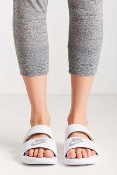 Nike Benassi Women's Slide Sandals | @giftryapp | Birthday | Pinterest |  Slide sandals, Sandals and Wardrobes