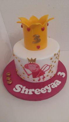 Peppa pigging Birthday Cake, Cakes, Desserts, Food, Tailgate Desserts, Birthday Cakes, Deserts, Essen, Cake
