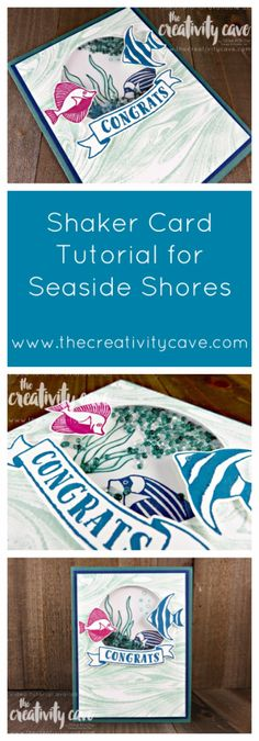 Welcome to What Will You Stamp Challenge! This week we are working with Seaside Shore--a fantastic stamp set and perfect for summer! I combined it with the new Marbled Background stamp to create a shaker card and I LOVE how...