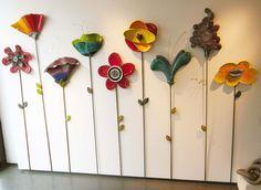 Χρωματιστά Λουλούδια  Wall Flower