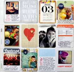 Project Life Catchup #scrapbook #projectlife
