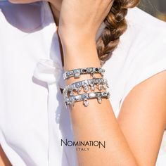 Composable Collection | Nomination Italy #composable #nominationitaly #bracelet #madeinitaly