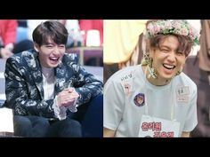 BTS Jungkook and GOT7 Yugyeom Adorable Twin Smiles - YouTube - These two look so similar that hey could be actual brothers <3